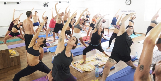 Aulas de Hot Yoga